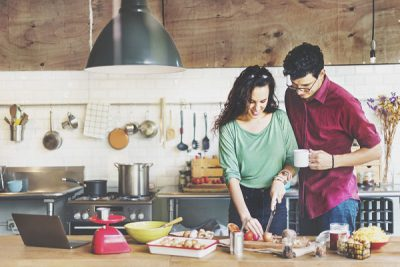 Hình nấu ăn để trao yêu thương