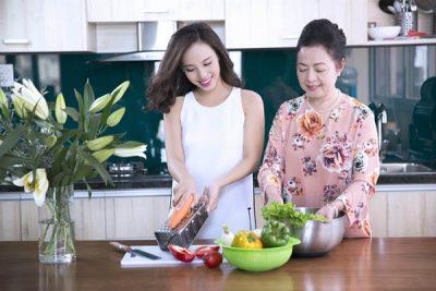nấu ăn cùng nhau