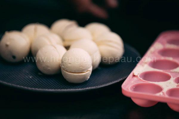 nhân bánh mochi