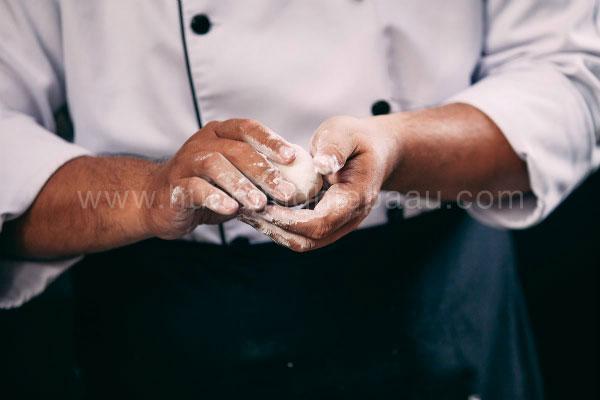 tạo hình bánh mochi
