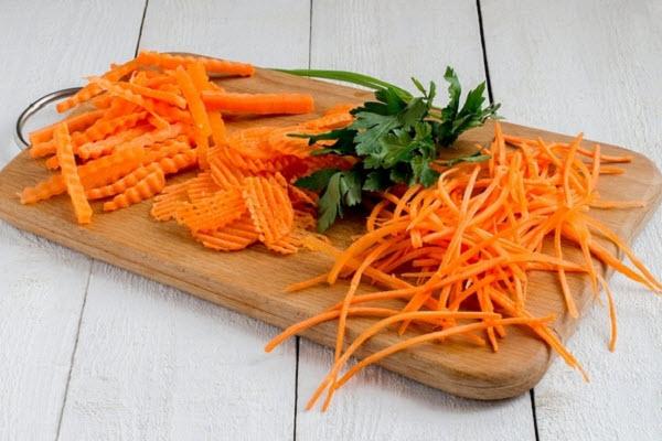 tạo hình cà rốt