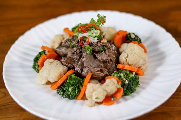 Bò nấu tiêu đen