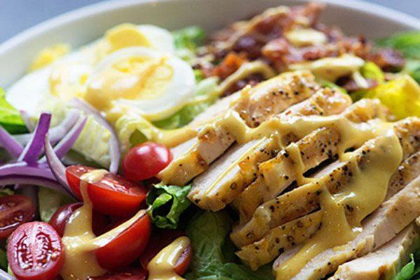 salad ức gà thanh đạm
