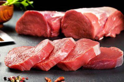 thịt bò có mùi thơm