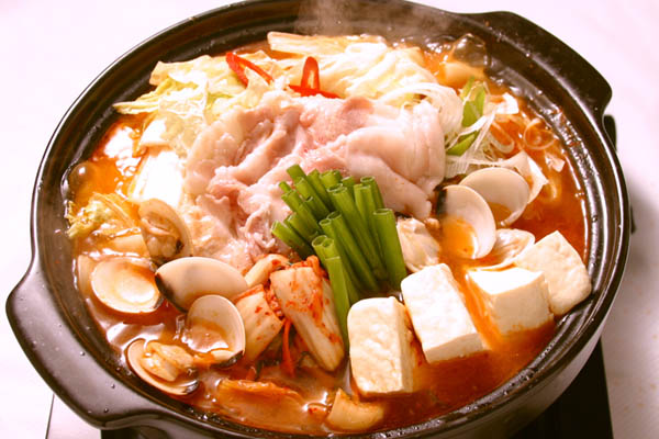 chanh kim chi hải sản