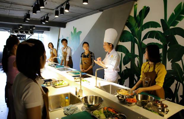 học nấu ăn gia đình tại tphcm